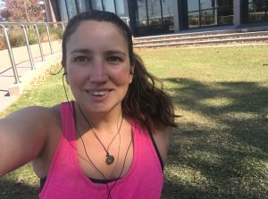 My chuffed post-run face. This post is hard to illustrate.