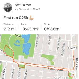 First C25K run